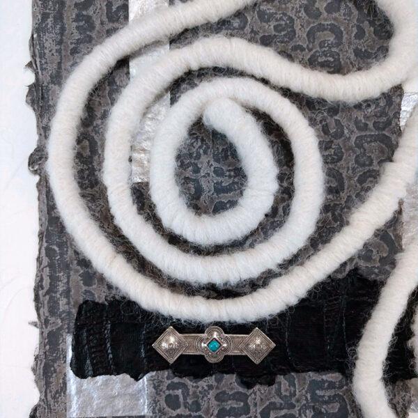 Creme Anglaise artwork Closeup Details