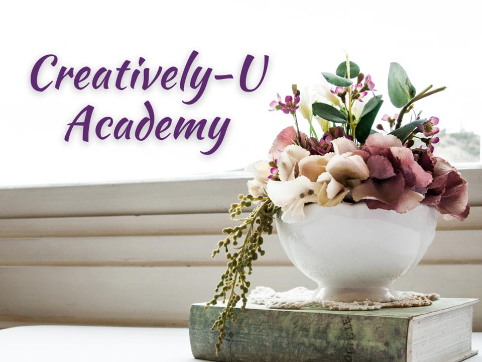 Creatively-U Academy Button
