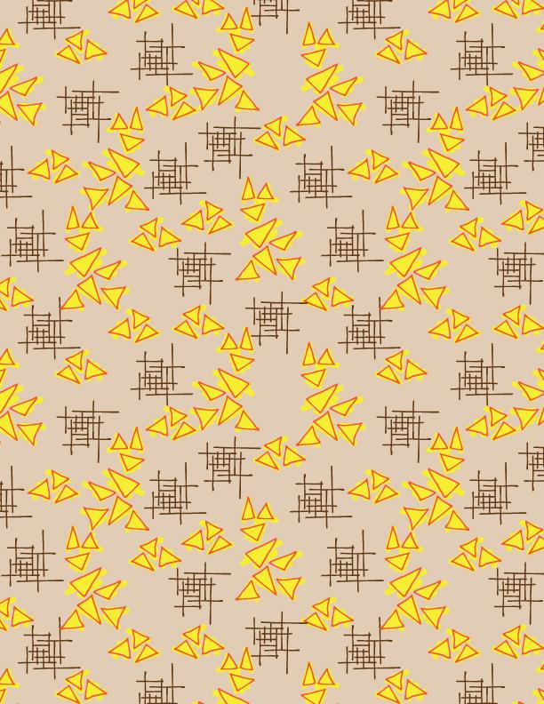 Fall Triangles pattern