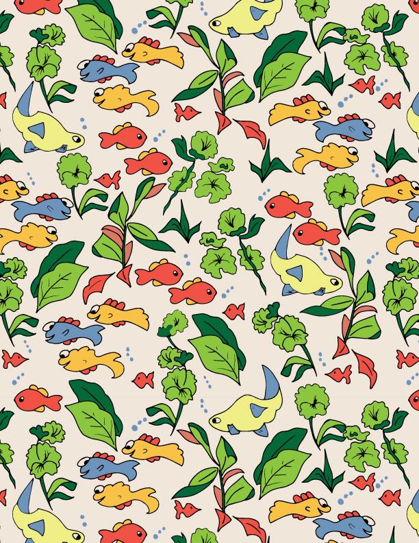 Meadow Fish Pattern