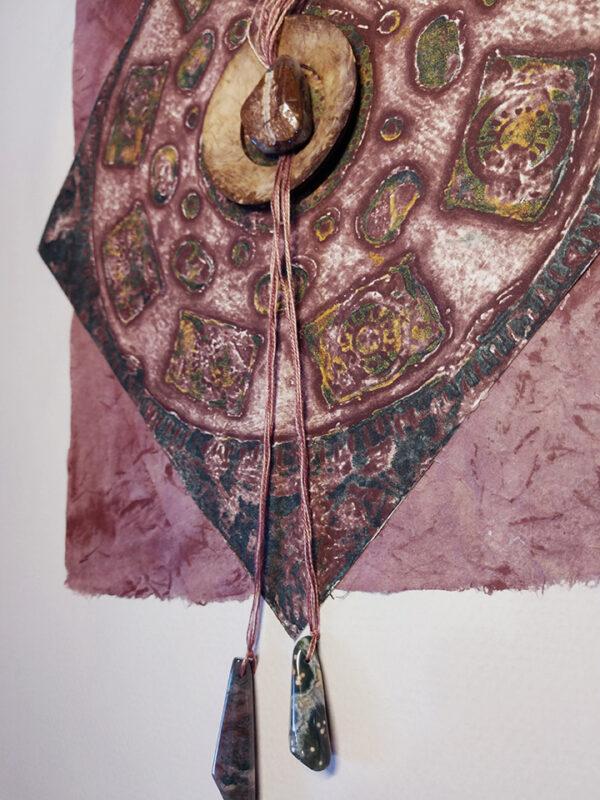 Sundial artwork Detail