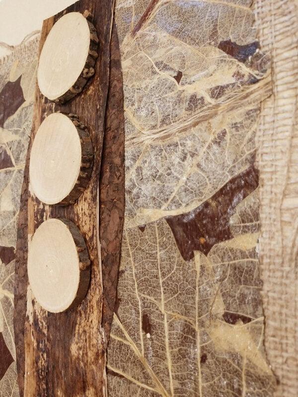 Timber artwork Detail